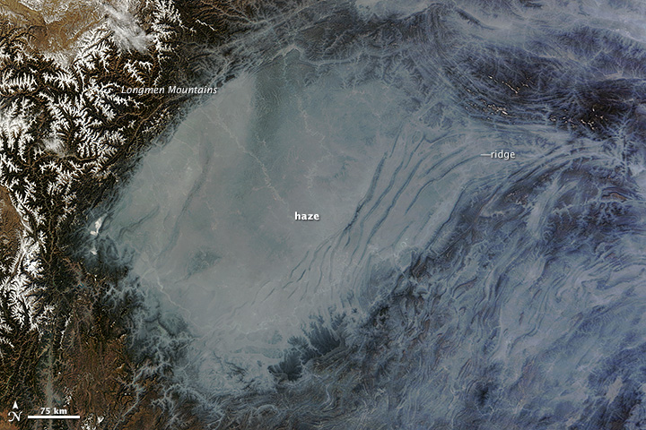 NASA image courtesy Jeff Schmaltz, LANCE MODIS Rapid Response. Caption by Adam Voiland.
