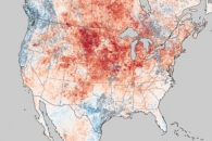 Historic heat in North America turns winter to summer.