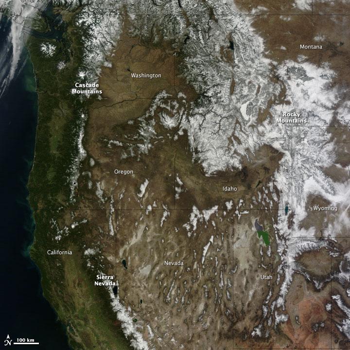 NASA image courtesy Jeff Schmaltz, LANCE/EOSDIS MODIS Rapid Response Team at NASA GSFC. Caption by Holli Riebeek.