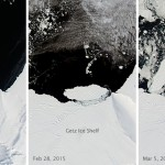Iceberg B-34 Makes Its Debut off Antarctica