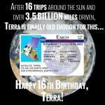 Terra Turns 16